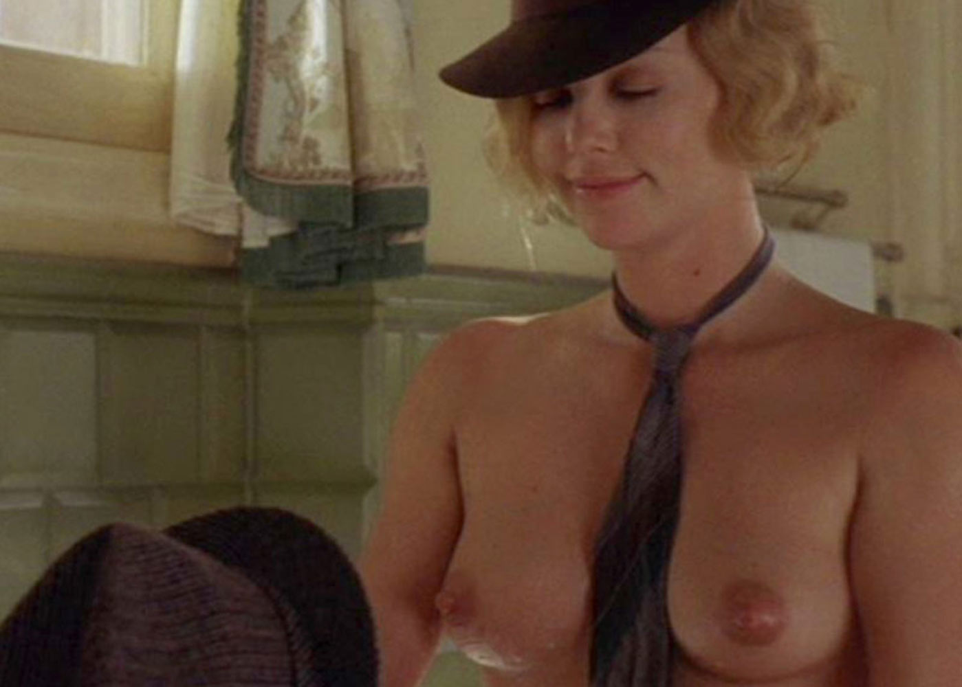Speaking, would Charlize theron nude com