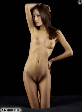 maggie q nudes