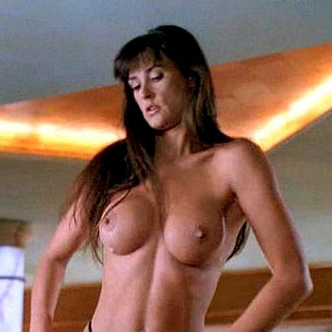 Demi moore nude sex something is